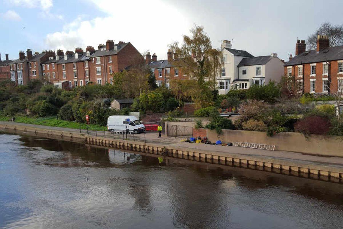 Shrewsbury River Severn search: Police name missing man as Thomas Bebbington