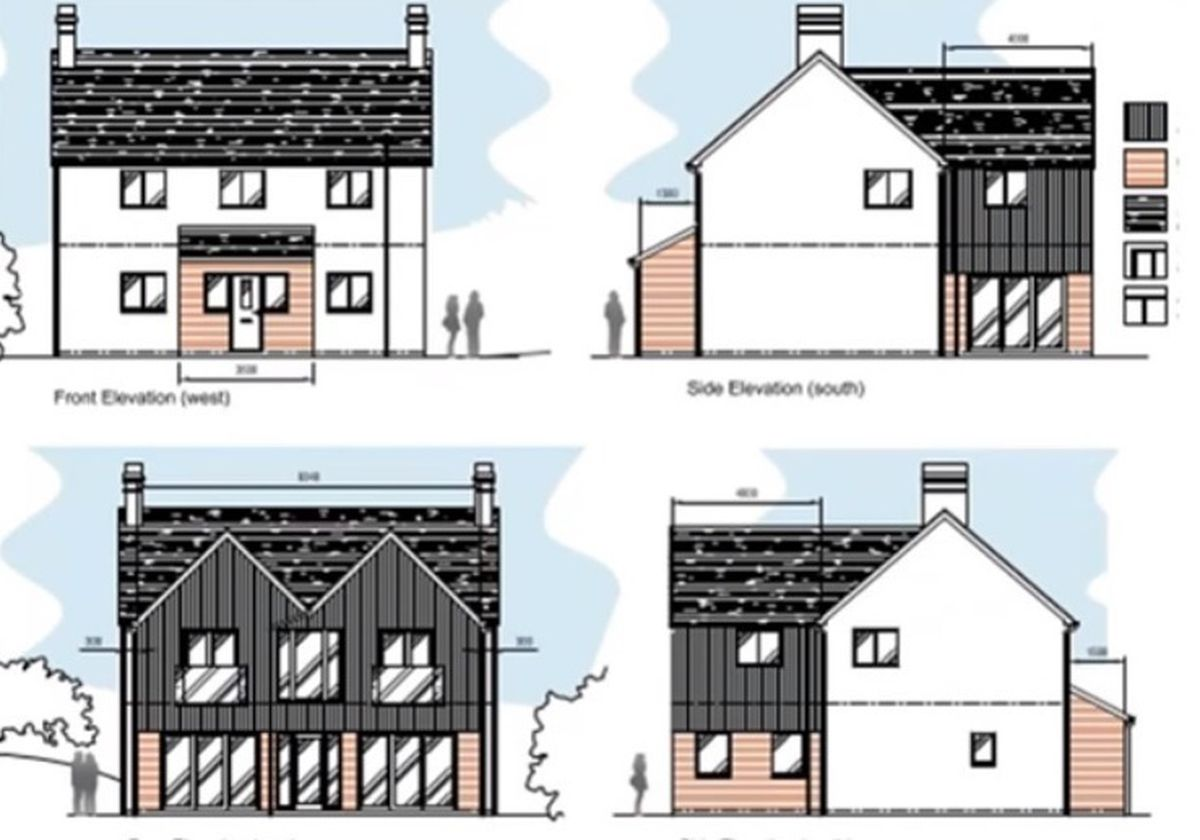 Plans for an extension and porch by Cllr E Michael Jones at Cwm Gwalley in Old Radnor were approved.
