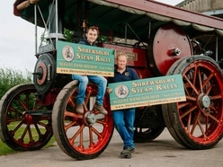 Traction engine to take centre stage at Shrewsbury Steam Rally