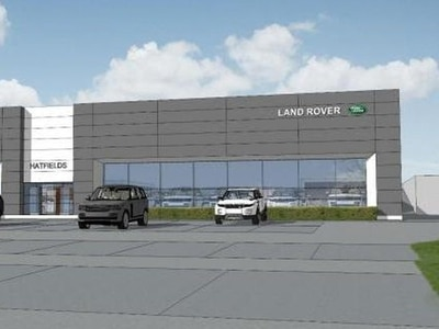 New petrol station and JLR showroom plans move a step closer