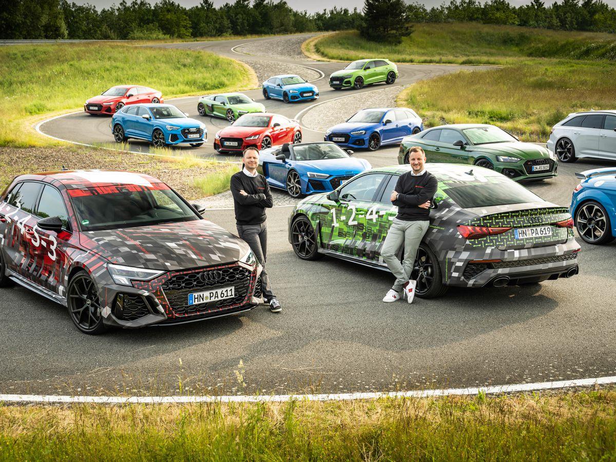 Audi RS vehicles
