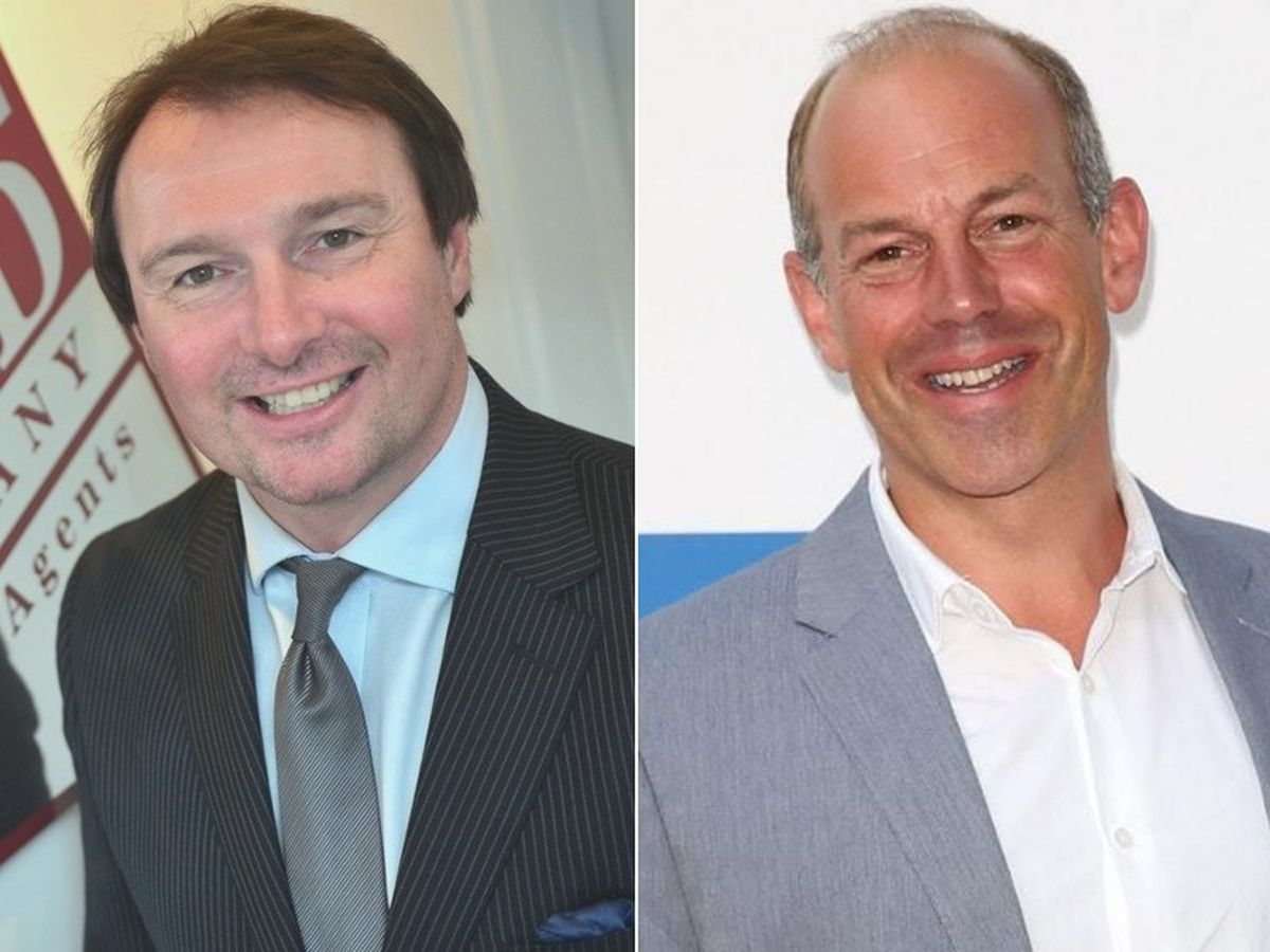 Russell Griffin, left, and Phil Spencer