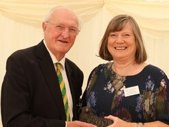 Top charity award for Christine
