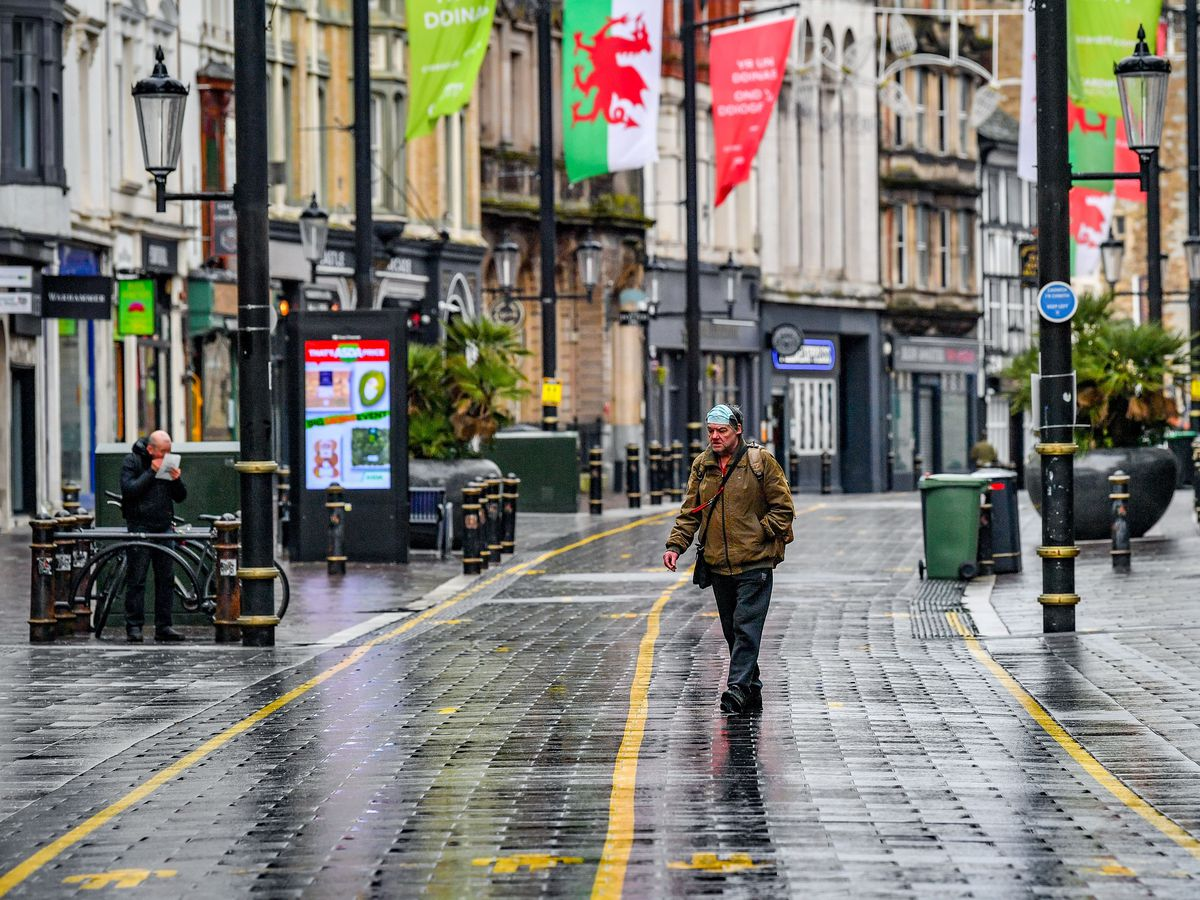 All remaining non-essential retail is due to open in Wales from Monday (Ben Birchall/PA)