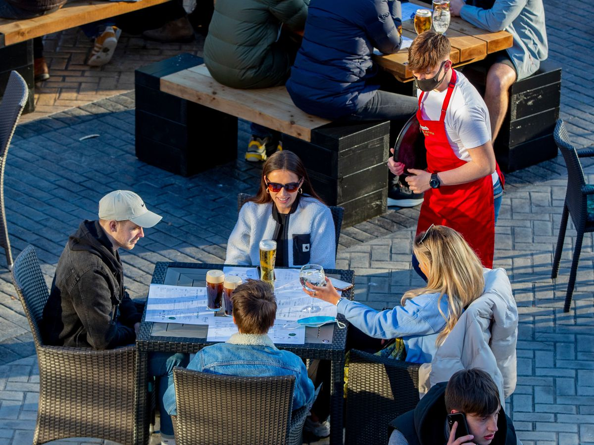 Social distancing rules are reportedly going to be scrapped for hospitality from June 21
