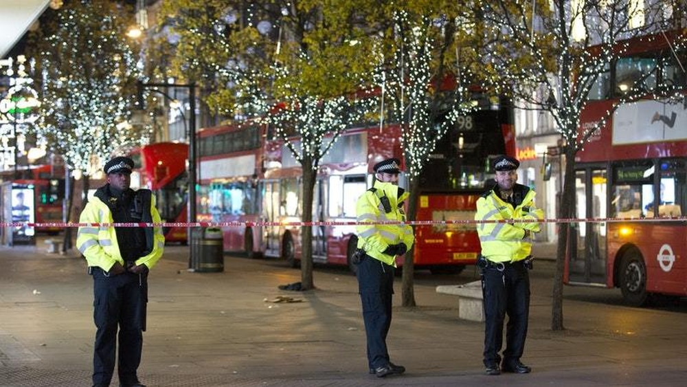 London on lockdown after reports of gunfire outside Oxford Circus Station