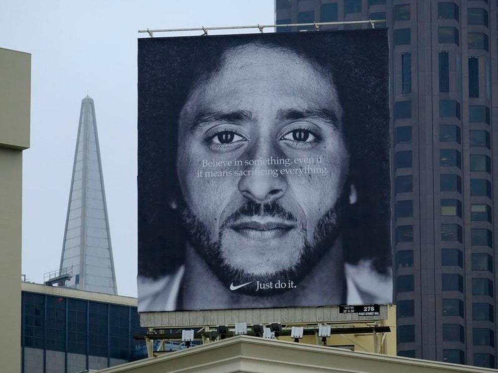 Colin Kaepernick Nike Advert 'Fixed' By Donald Trump Jr
