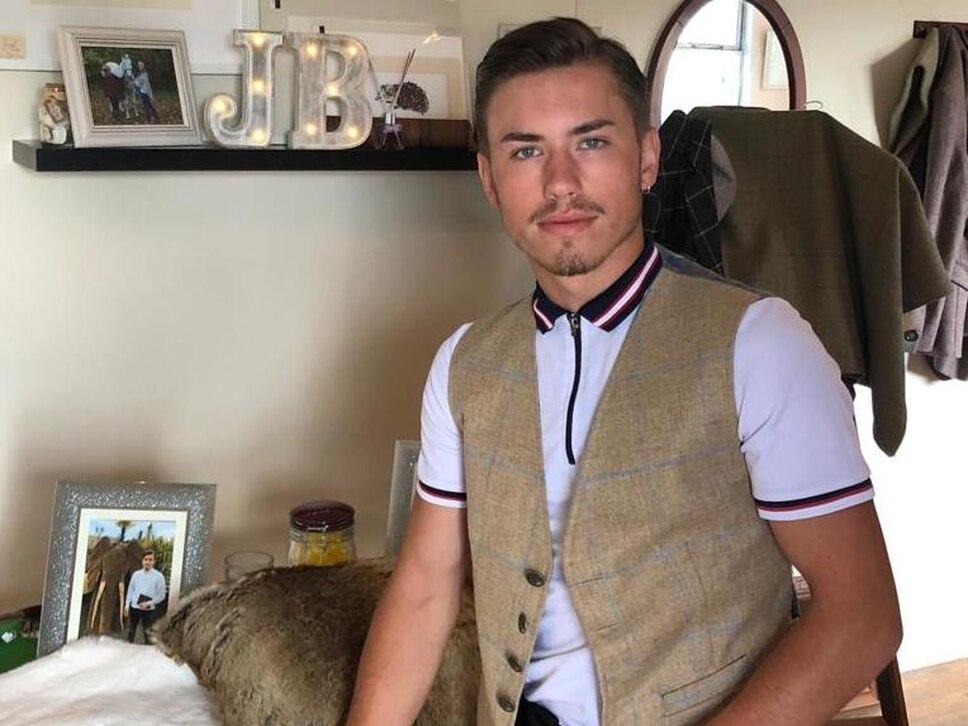 Jordan, 19, opens boutique to showcase his work