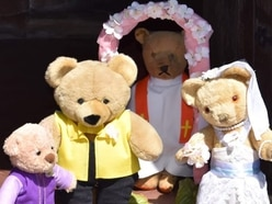 Teddy bear treat bring out smiles in village near Telford
