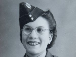 Emily Wilkinson during her Army career