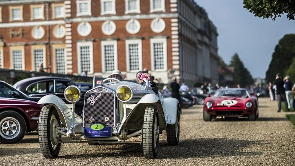 Hampton Court Palace to host some of the world\'s rarest cars for the ...