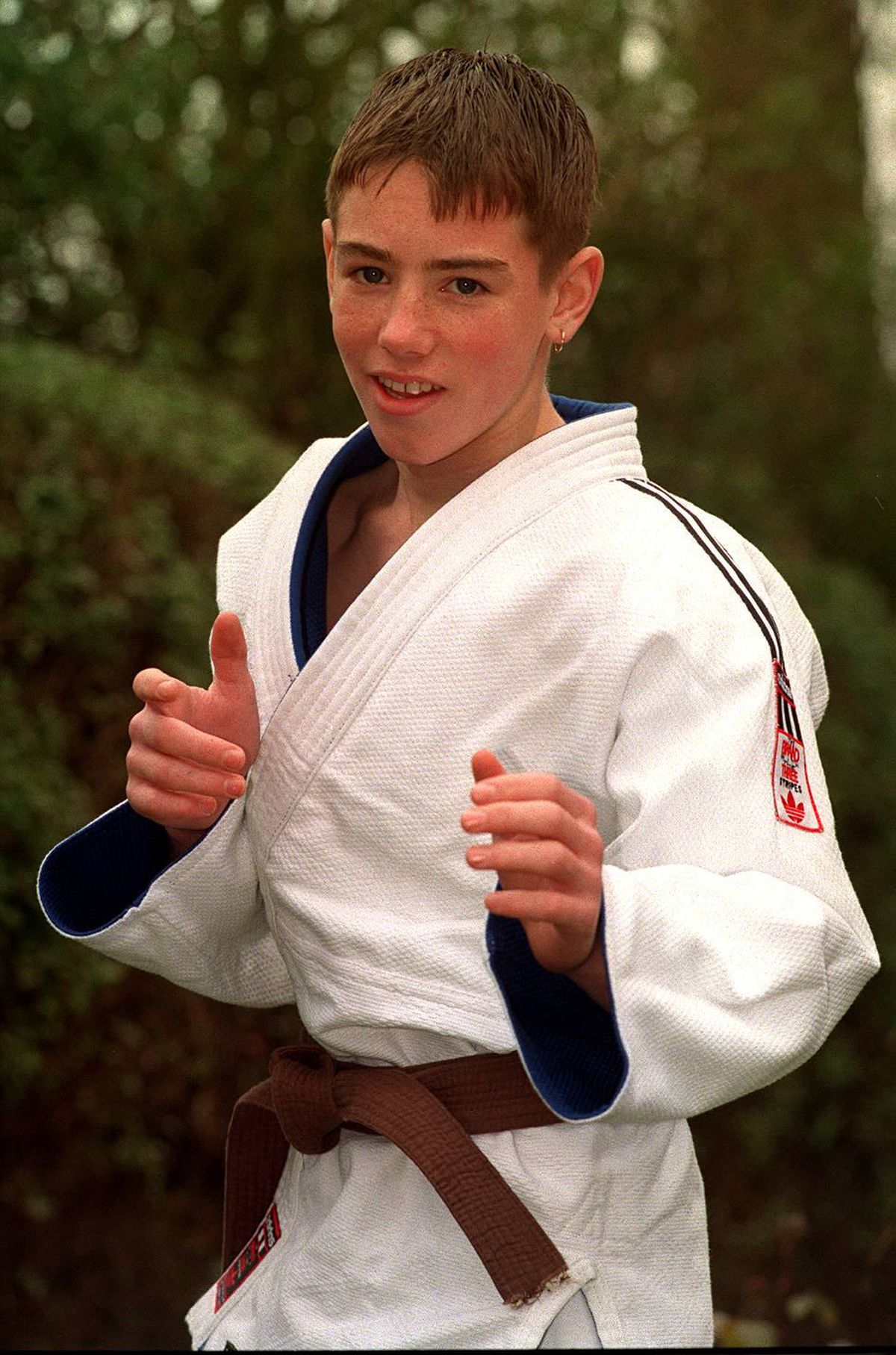 Craig Fallon at 14
