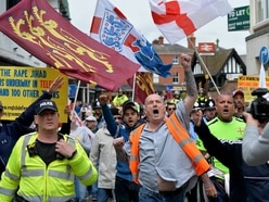 140 officers policed EDL protest march in Wellington