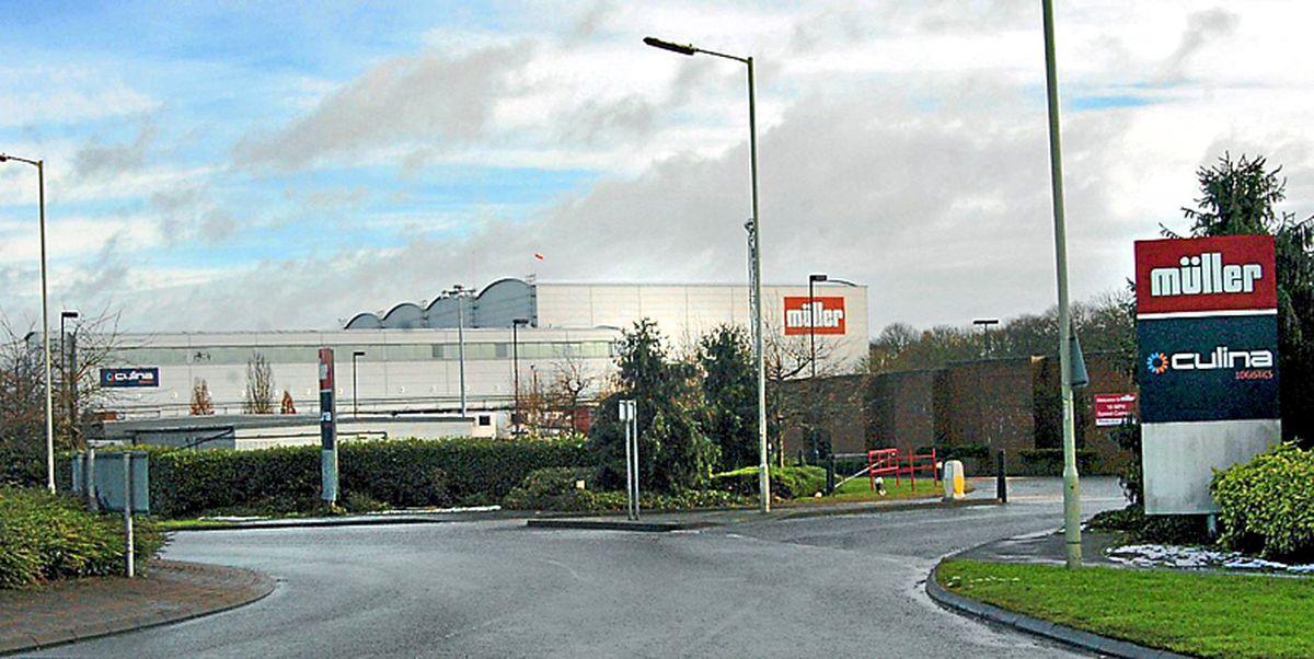 Müller's base in Market Drayton