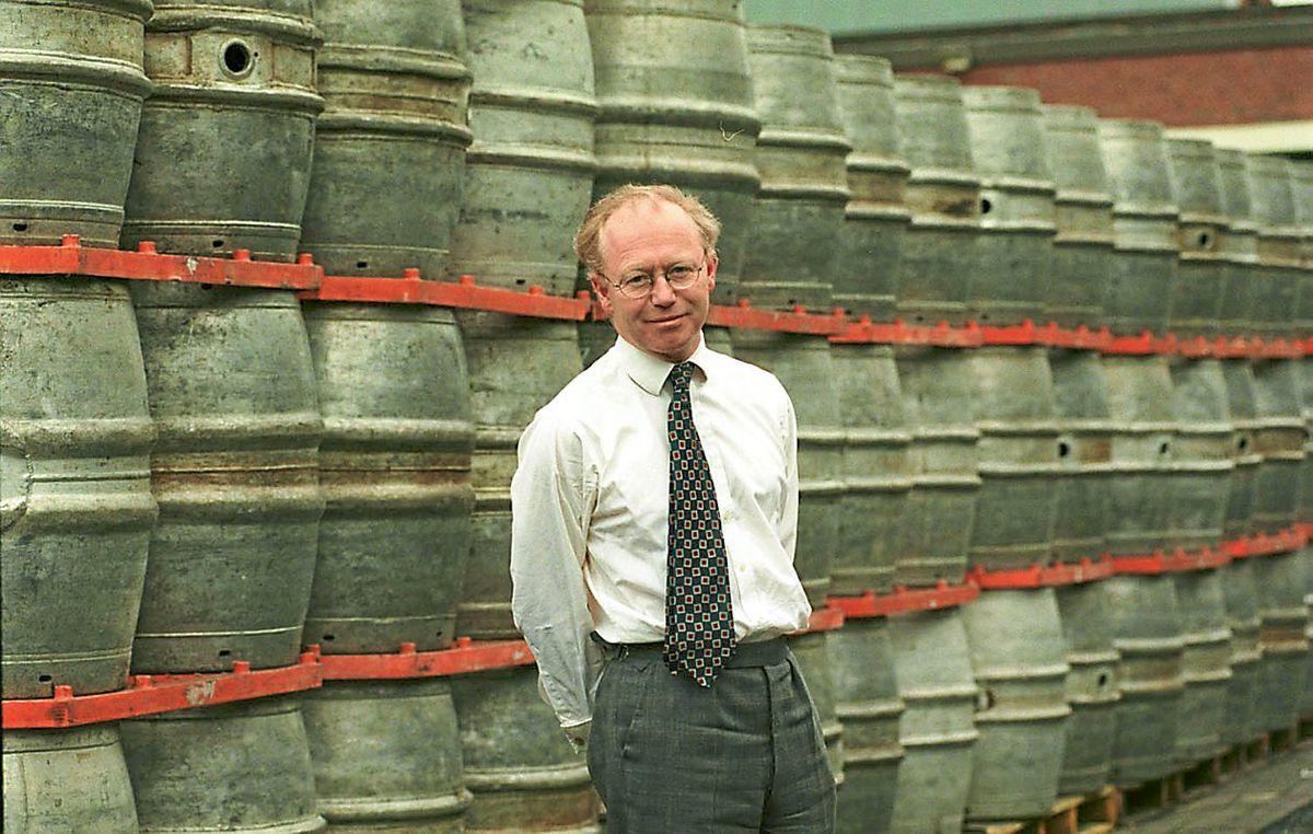 David Thompson at Banks's Park Brewery