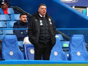 West Bromwich Albion manager Sam Allardyce