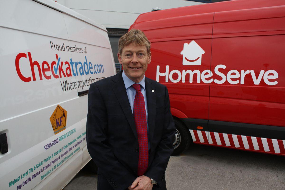 HomeServe chief executive Richard Harpin