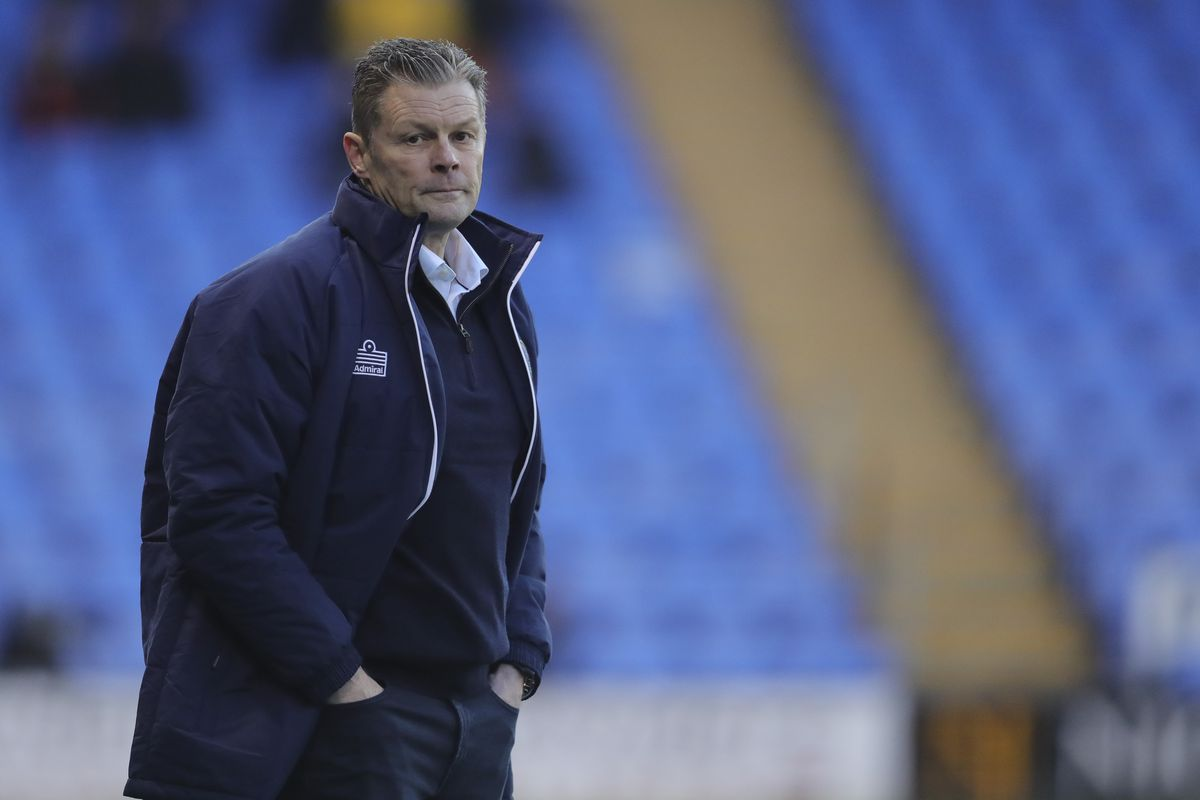Steve Cotterill will be missing for Shrewsbury Town as remains ill with coronavirus (AMA)