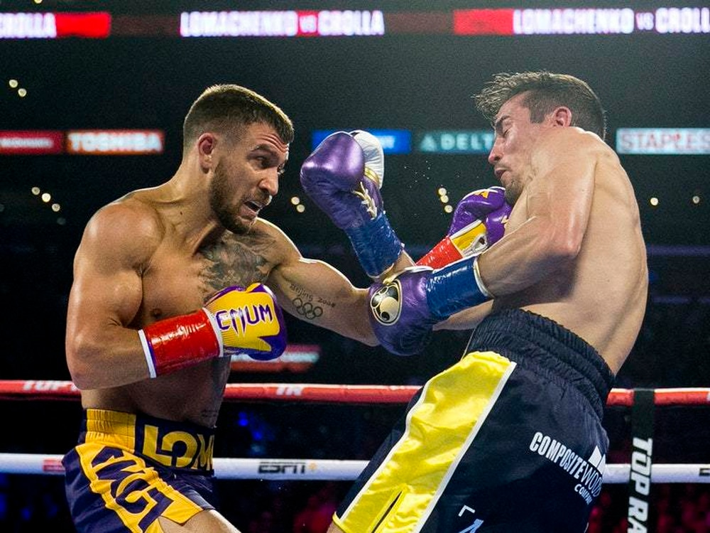 Anthony Crolla: Briton loses to Vasyl Lomachenko in Los Angeles