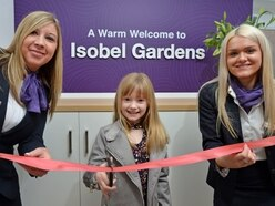 She's streets ahead! M54 layby baby honoured with homes development named after her