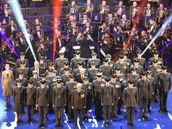 RAF bands fly into Birmingham for evening of music