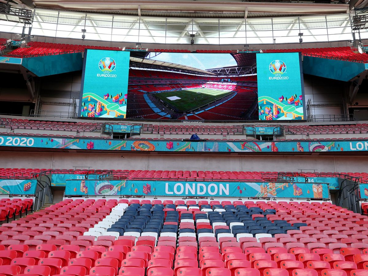 Wembley is due to host the semi-finals and the final of Euro 2020