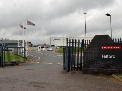 £28 million majority stake in Telford's BAE Systems sold to German rival