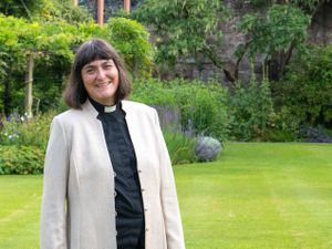 The new Dean of Hereford, Rev Canon Sarah Brown.
