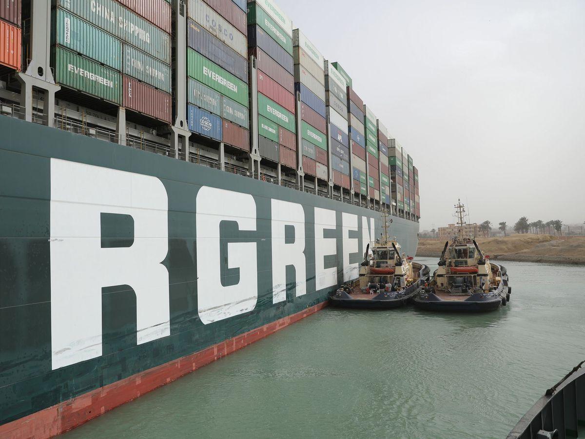 Ever Given cargo ship blocks Suez Canal