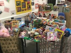 £1,500 in toys donated to Princess Royal Hospital by Wellington shop