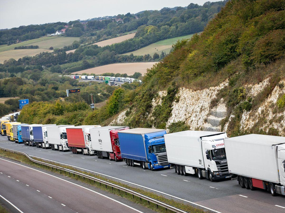 Dover port traffic