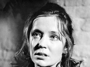 Lois Baxter playing Janice Quinn, a young prisoner in the prison drama Within These Walls in 1974.