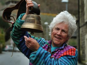 Veteran activist Angie Zelter, of Knighton, welcomes the United Nations treaty to ban nuclear weapons