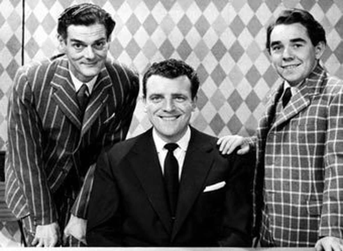 Eamonn Andrews was the first presenter of Crackerjack!