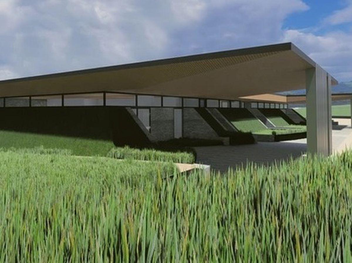How the crematorium could look