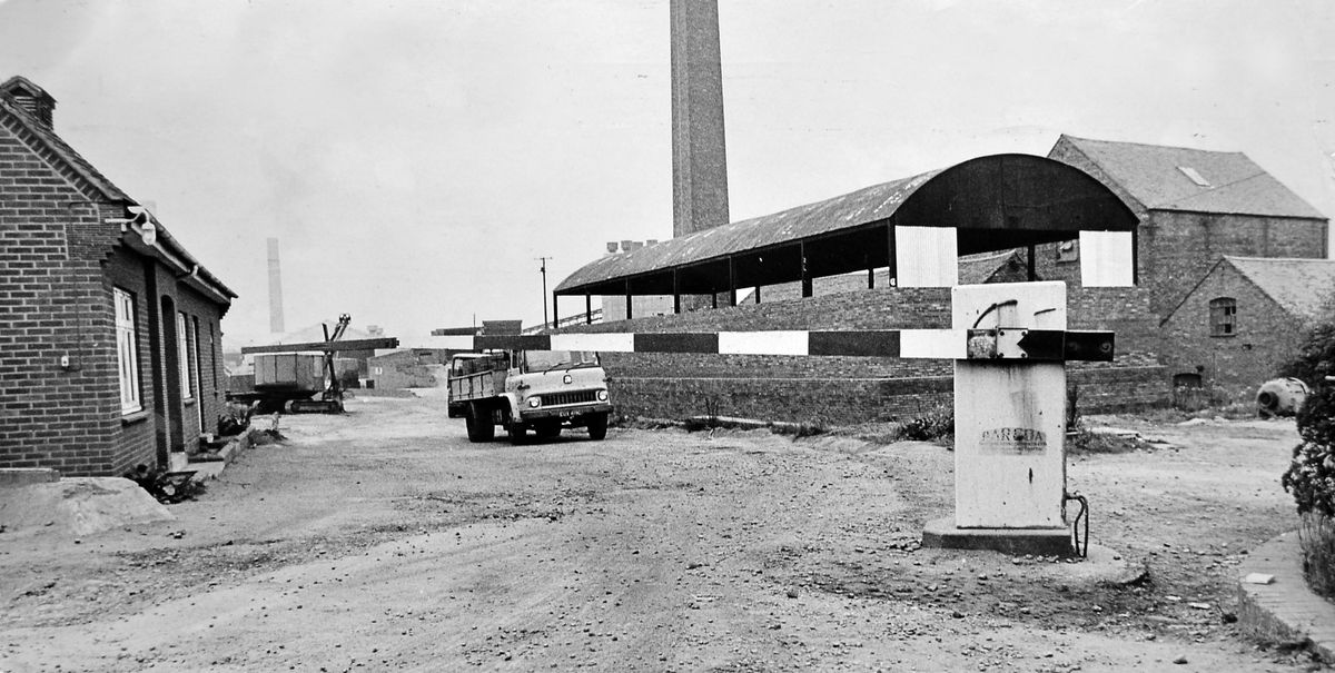 """There wasn't much going on at Blockley's brickworks in Hadley on Monday, October 2, 1972. Between 50 and 60 men who had been on strike the previous week for higher piecework rates had voted on the Saturday to return to work, but when they arrived on Monday they found their cards had been removed from the clocking-in machine. """"This is a lockout,"""" said Eric Timmins, of the General and Municipal Workers' Union."""
