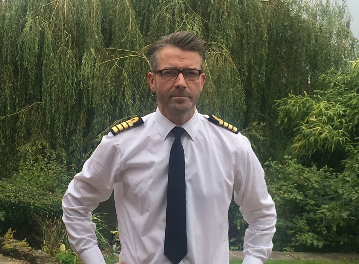 Captain Jim Simpson, who has died in service aged 44
