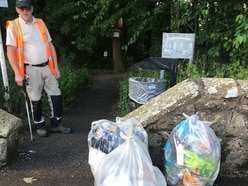 Litter up by 28 per cent in Telford as more than 20 TONS collected in one week