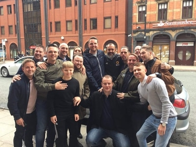 Nuno mobbed by Wolves fans after being spotted out in Manchester