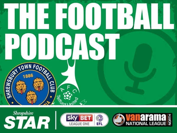 Shropshire Football Podcast - Episode 19: The biggest game of the weekend?!