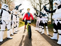 The Force is with Telford charity bike riders - with pictures