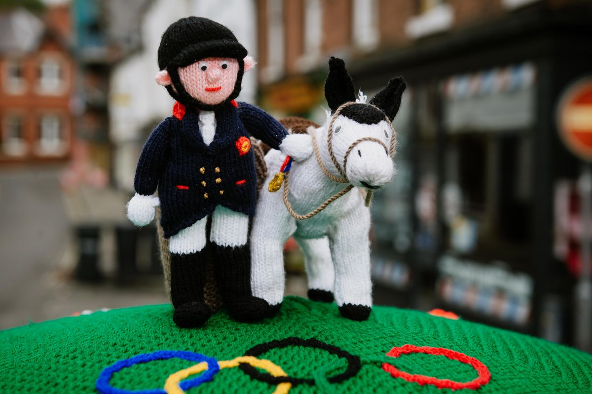 The tribute to showjumper Oliver Townend