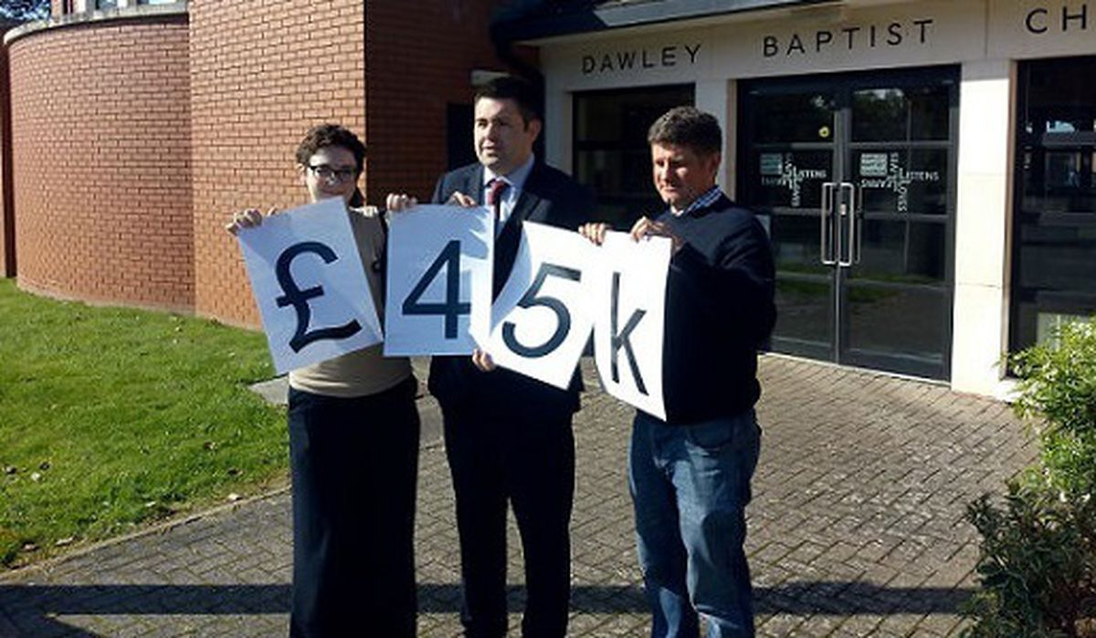 Funding boost celebrated