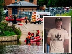 Shane Walsh: Search for missing Shrewsbury dad enters third day