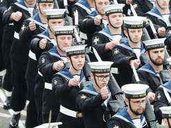 Sailors prepare for Royal Navy's first Changing the Guard