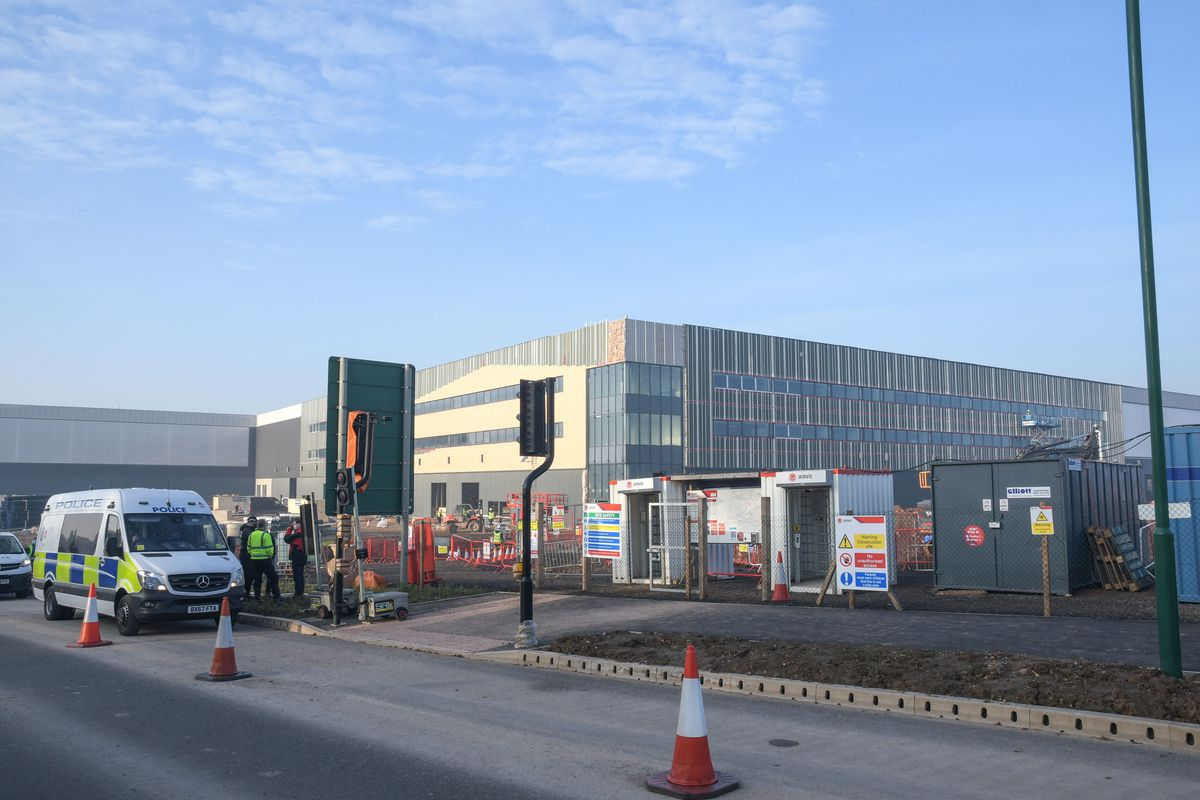 The land where the remains were found is near Jaguar Land Rover's site in Solihull. Photo: SnapperSK
