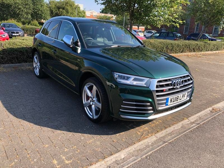 Lady luck fails to shine on our Audi SQ5