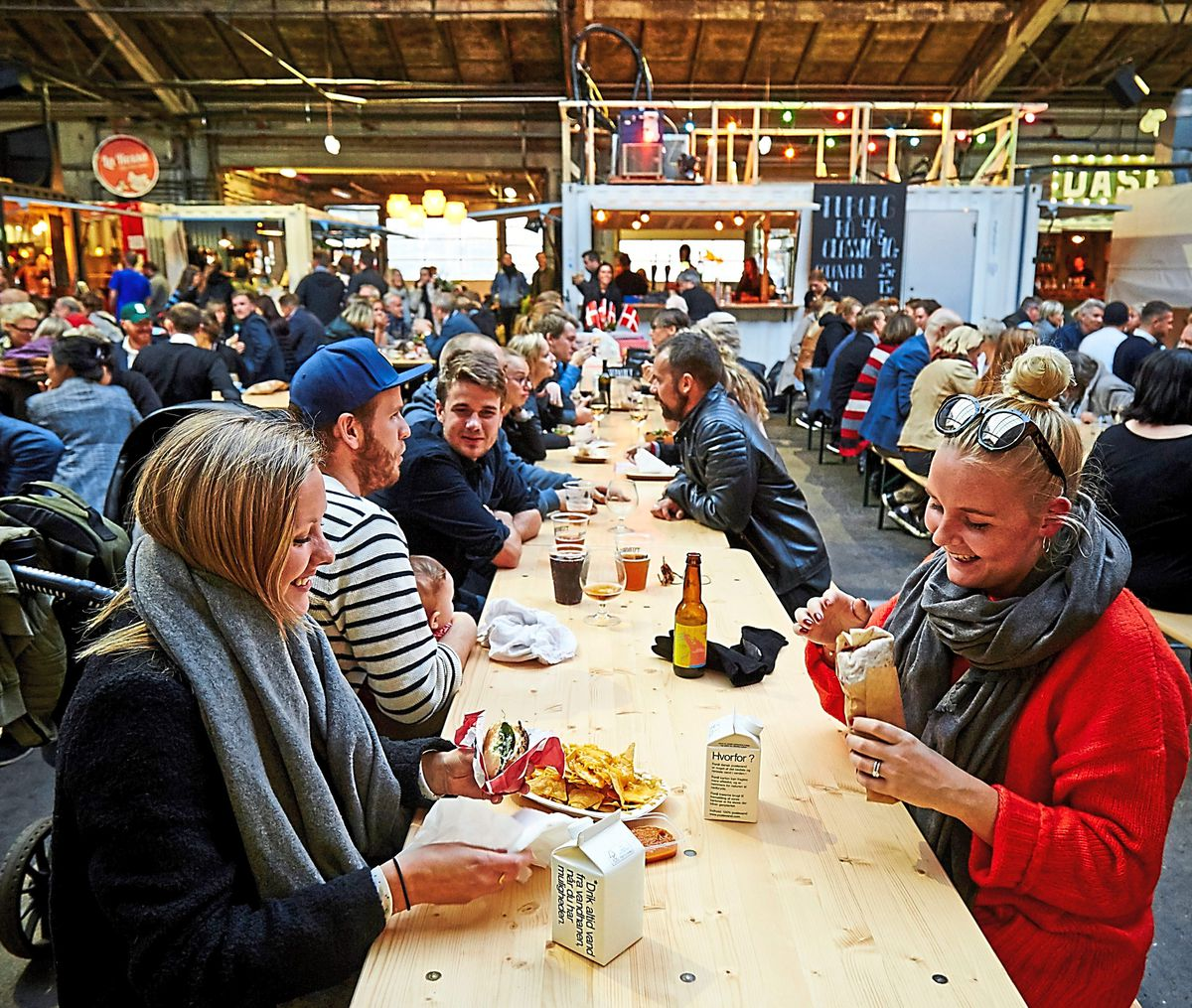 Eat up – world flavours at Aarhus Street Food