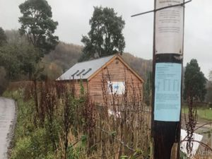 Llanfair Waterdine Community Pavilion.