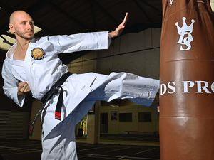 Kicking off a new project – Grant Pritchard has created the Shukokai Shropshire Karate Club, which is based at the Bright Star Boxing Academy in Shifnal town centre